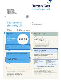 energy bills explained understand them save pound s mse british gas page 1
