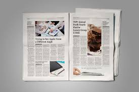 Old Fashion Newspaper Template Old Style Newspaper Template Stockindesign