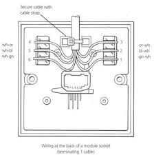 telephone box wiring diagram telephone socket wiring how to do it telephone socket wiring
