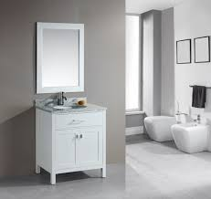 ... adorable minimalist bathroom decor with freestanding vanity with single  bowl sink ...
