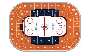 Swamp Rabbit Hockey Seating Chart Bon Secours Wellness Arena
