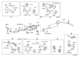 TOYOTA 4 RUNNER TRUCKVZN110L-CRMDEA - TOOL-ENGINE-FUEL - EXHAUST ...
