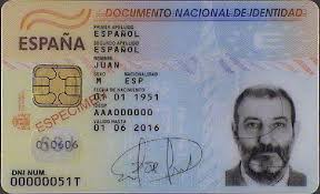 Tax Information Jurisdiction's I Numbers Identification On Spain – Section Name
