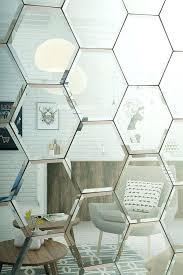 mirror tile silver and cream mirrored glass