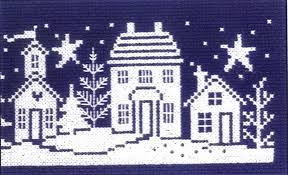 Imaginating Cross Stitch Charts Winter Silhouette