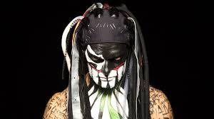 Face War Paint Designs The 50 Coolest Face Painted Superstars Photos Wwe