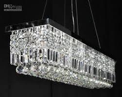 100cm Modern Contemporary Crystal Pendant Light Ceiling Lamp Modern Pendant  Chandelier Lighting