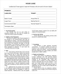 House Rent Agreement Format 5 Night Club Nyc Guide