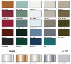 Union Metal Roofing Color Chart 8 Best Roof Ideas Images In 2017 Metal Roof Houses House