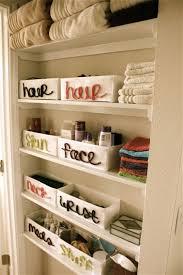 Bathroom Closet Organization Ideas Impressive 48 Brilliant Bathroom Organization And Storage DIY Solutions DIY