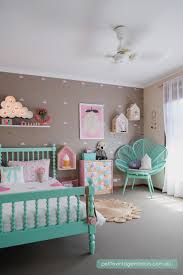 Pink And Green Walls In A Bedroom 17 Best Ideas About Mint Girls Room On Pinterest Baby Girl Room