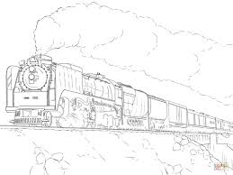 challenge trains coloring pages launching steam train page free printable my