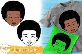 Perfect for cricut or silhouette. Black Boy Cute Afro Boy Svg African American Boy Svg 567133 Cut Files Design Bundles
