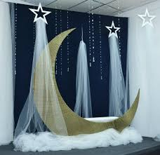 Pin by Vera Griffith on Education in 2020   Moon baby shower, Dance  decorations, Baby shower decorations for boys