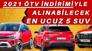 ÖTV İndirimi İle Alınabilecek SUV Araçlar 2021 - Engelli Raporuyla ÖTV  Muafiyet Limiti Kaç TL ? - YouTube