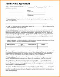 Partnership Agreement Template Free Download Small Business Agreement Template Sweetbook Me Contracts Free Small 4