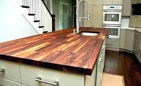 how to make a butcher block countertop making dream photo jenny homes oak cost vs granite laminate countertops