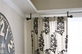 double curtain rod extender bracket home ideas collection
