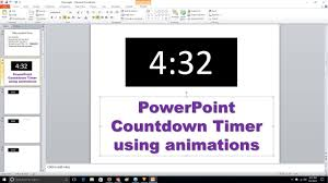 Countdown Clock For Powerpoint Presentation Powerpoint Countdown Timer Animation Youtube