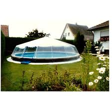 Above Ground Pool Dome Image Detail For Swimming Pool Enclosures