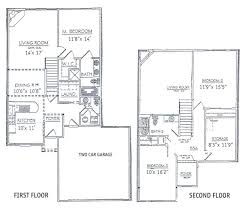3 bedroom house plans with garage and basement. two bedroom house plans with basement lovely 3 bedrooms floor 2 story garage and