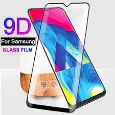 For Samsung Galaxy M10 M20 M30 9D <b>Tempered Glass Film Full</b> ...