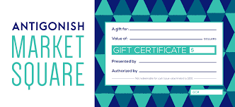 antigonish market square gift certificates antigonish market square antigonish market square gift certificates