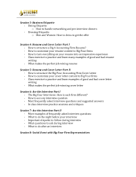 Big Four Cover Letter Big 4 Resume Board Of Directors Resume Example For Corporate Or