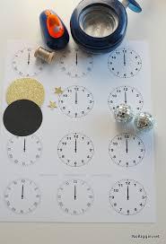 New Years Eve Midnight Clock Printable