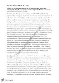 place and belonging essay belonging essay formative learning education centre