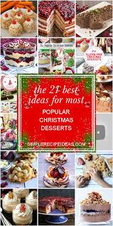 'tis the season for something sweet. Most Popular Christmas Desserts Page 1 Line 17qq Com