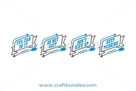 But learning all about the cricut isn't as easy as it should be. Motivational Svg Cut File Craftbundles