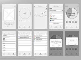Pomodoro Chart Pomodoro Counter Ios App On Behance