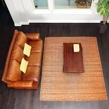 bamboo rugs 8x10 chestnut woven natural bamboo amp rattan area rug bamboo rugs