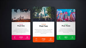 Css Design Rpg Style Card Design With Hover Effect Html Css Tutorial