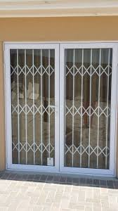 how to secure outside track sliding glass doors door security bar
