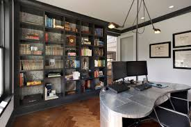 Industrial home office Houzz 18 Interior Design Ideas 33 Inspiring Industrial Style Home Offices That Sport Beautiful