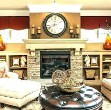 wall decor above fireplace mantel decorating ideas over mounted