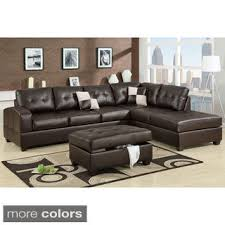 Sectional Couch Leather Magnificent Sectional Leather Sofas Home