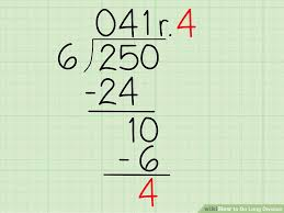 Long Division Process Chart 4 Easy Ways To Do Long Division With Pictures Wikihow