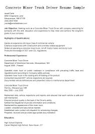 Cover Letter For Driving Job With No Experience Cover Letter Truck Driver Resume Template For Inexperienced Dump No