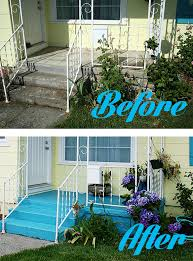 fabulous painted concrete patio house decor concept how to paint a concrete patio thismodernwife