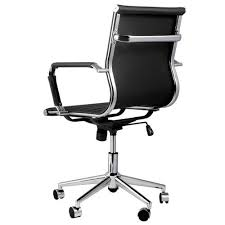 eames reproduction office chair. Eames Replica Office Chair In PU Leather Reproduction O