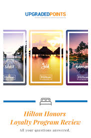 Hilton Hotels Honors Loyalty Program 2019
