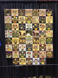 Winding Vine Wanderings | Applique Quilts | Pinterest | Applique ... & 7 fantastic Facts about Folk Art Quilts with examples from the  International Quilt Festival Chicago Adamdwight.com