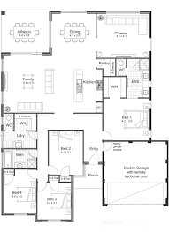 Modern 5 Bedroom House Plans 5 Bedroom 1 Story House Plans Bedroom