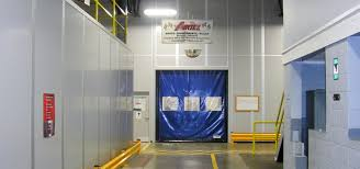 warehouse divider walls in plant