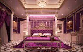 royal purple bedroom photo - 5