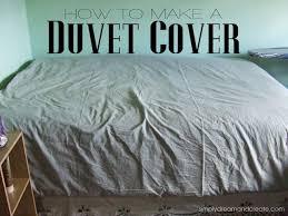 simply dream create how to make a duvet cover