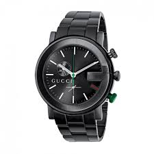 gucci watches jewellery fraser hart gucci g chrono men s black pvd watch